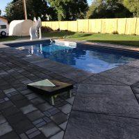 cornhole and pool