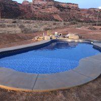 desert pool oasis