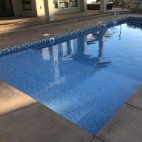 wading step, sunbathe pool step