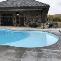 oversized pool step, bathing pool step, wading step for pool